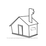 How to Draw a House for Kids Easy