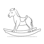 How to Draw Rocking Horse