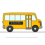 How to Draw Cartoon School Bus