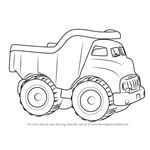 How to Draw a Dump Truck for Kids