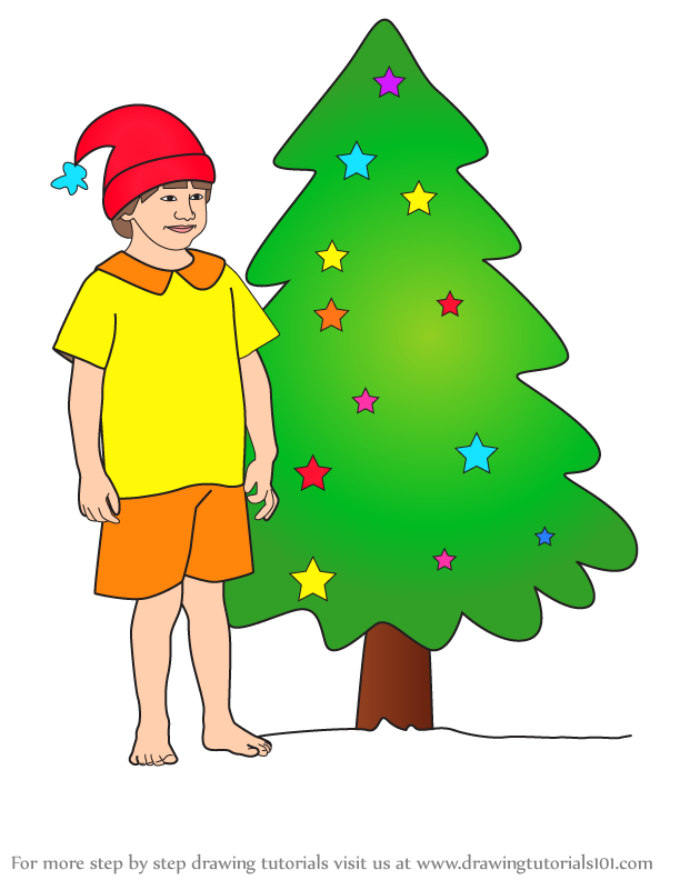 Christmas Tree Drawing Images Easy Drawing Ideas Grab all of the markers and crayons and let your kiddos get to. drawing ideas