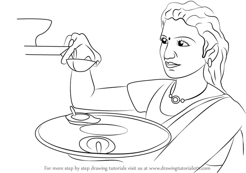 coloring pages of diwali scenes - photo#24