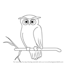 How to Draw a Scary Owl
