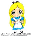 How to Draw Kawaii Alice from Alice in Wonderland