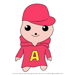 How to Draw Kawaii Alivin from Alvin and the Chipmunks