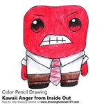 How to Draw Kawaii Anger from Inside Out