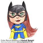 How to Draw Kawaii Batgirl