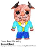 How to Draw Kawaii Beast