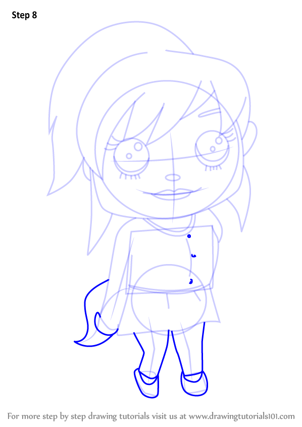 Learn How To Draw Kawaii Brittany From Alvin And The