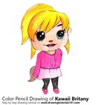 How to Draw Kawaii Brittany from Alvin and the Chipmunks