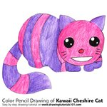 How to Draw Kawaii Cheshire Cat