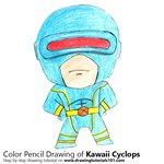 How to Draw Kawaii Cyclops
