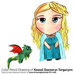 How to Draw Kawaii Daenerys Targaryen