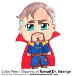 How to Draw Kawaii Dr. Strange