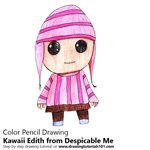 How to Draw Kawaii Edith from Despicable Me