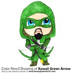 How to Draw Kawaii Green Arrow