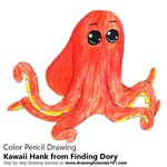 How to Draw Kawaii Hank from Finding Dory