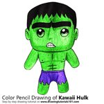 How to Draw Kawaii Hulk