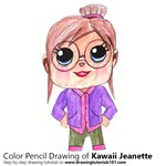 How to Draw Kawaii Jeanette