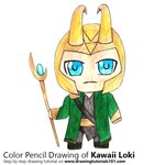 How to Draw Kawaii Loki