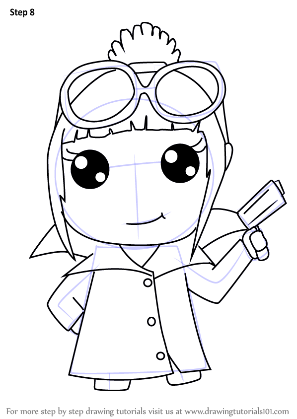 Learn How To Draw Kawaii Lucy Wilde From Despicable Me