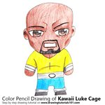 How to Draw Kawaii Luke Cage