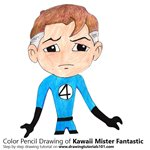 How to Draw Kawaii Mister Fantastic
