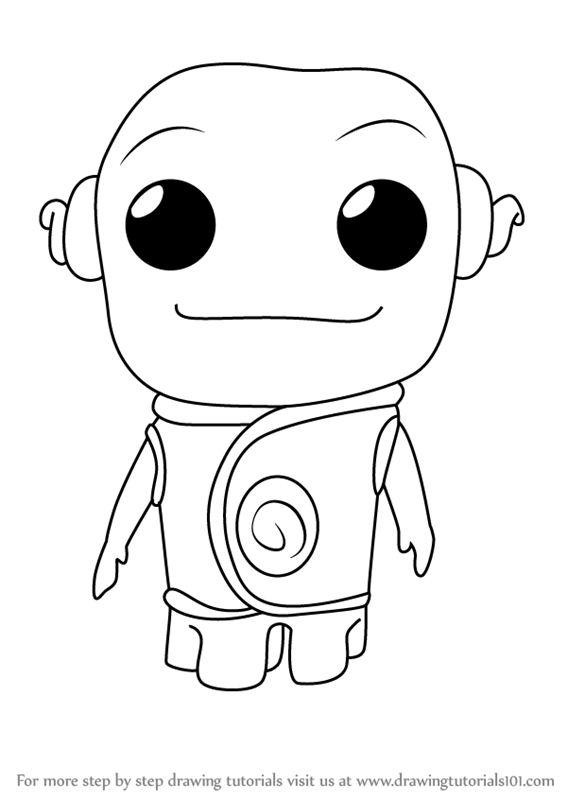 Learn How To Draw Kawaii Oh From Home Kawaii Characters Step By