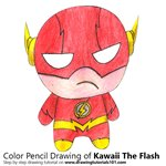 How to Draw Kawaii The Flash