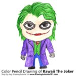 How to Draw Kawaii The Joker