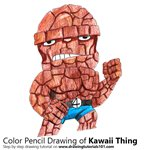 How to Draw Kawaii Thing