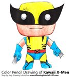 How to Draw Kawaii X-men