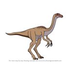 How to Draw a Gallimimus