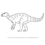 How to Draw a Iguanodon