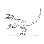How to Draw an Utahraptor