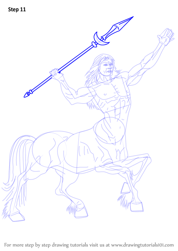 Learn How to Draw a Centaur (Other Creatures) Step by Step ...