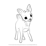 How to Draw Rudolph the Red-Nosed Reindeer