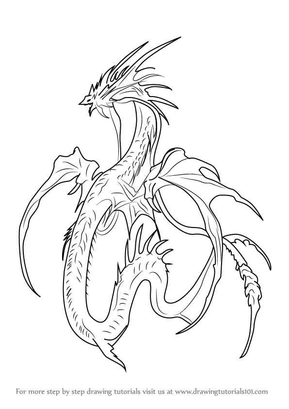 how to draw leviathan