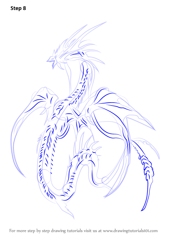 Learn How To Draw Leviathan Sea Monsters Step By Step