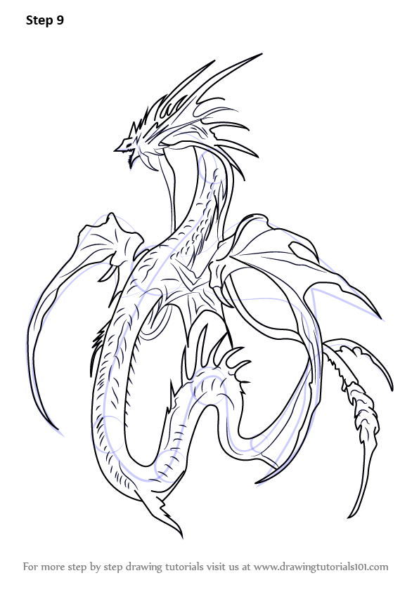 Learn How to Draw Leviathan Sea