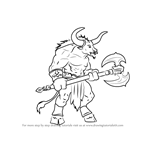 How to Draw a Minotaur