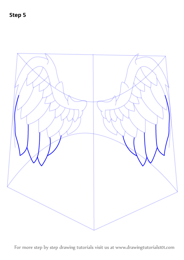 Learn How to Draw Angel Wings (Angels) Step by Step ...