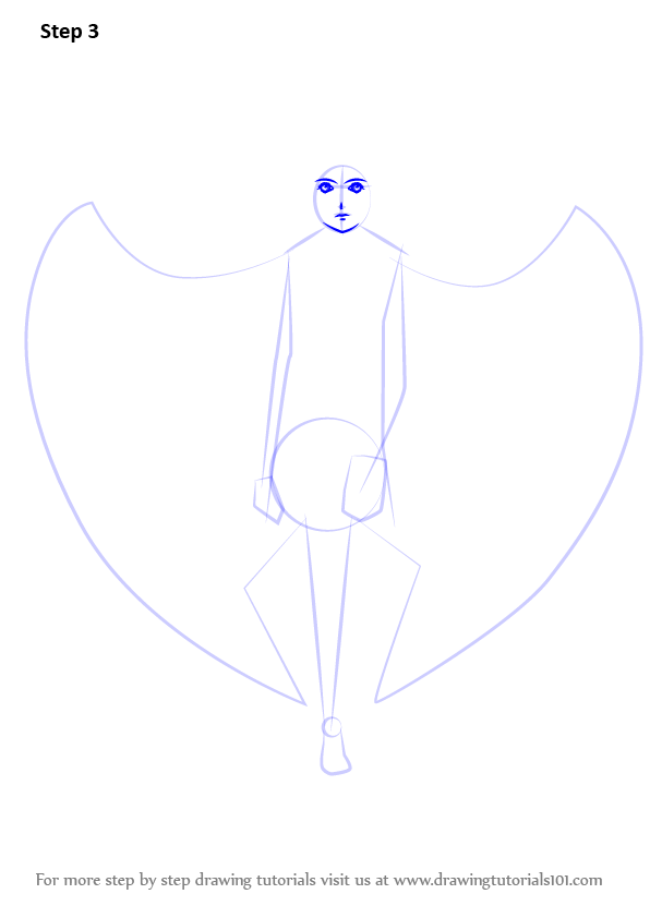 learn how to draw an angel with wings  angels  step by