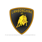 How to Draw Lamborghini Logo
