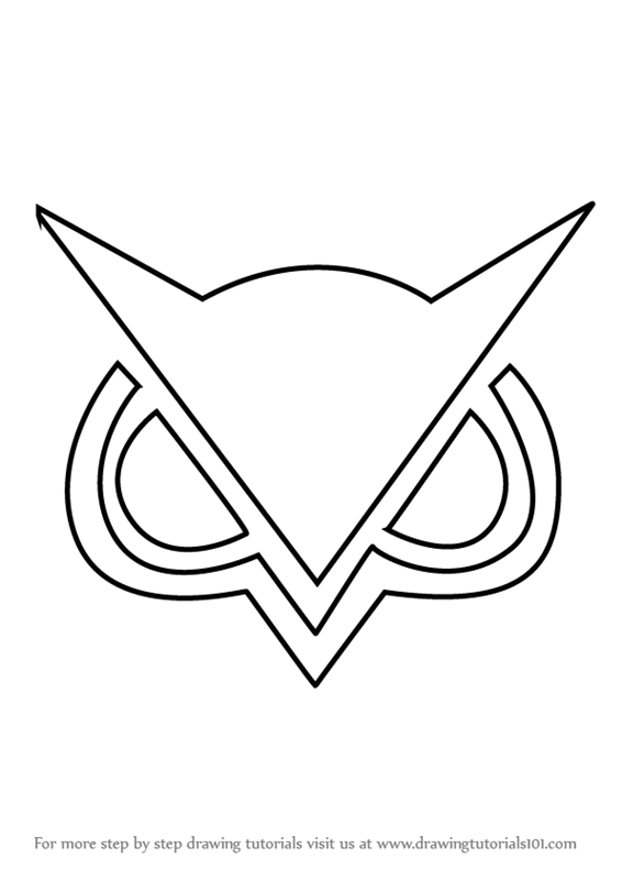 Drawing Lines Brand : Learn how to draw vanossgaming logo brand logos step by