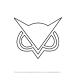 How to Draw VanossGaming Logo