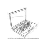 How to Draw a Laptop