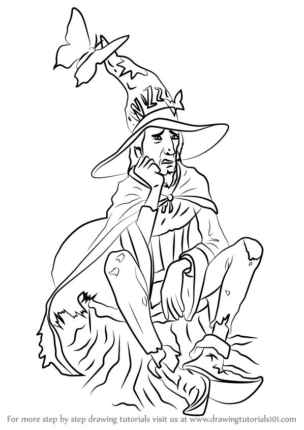 discworld coloring pages | Learn How to Draw Rincewind from Discworld (Discworld ...
