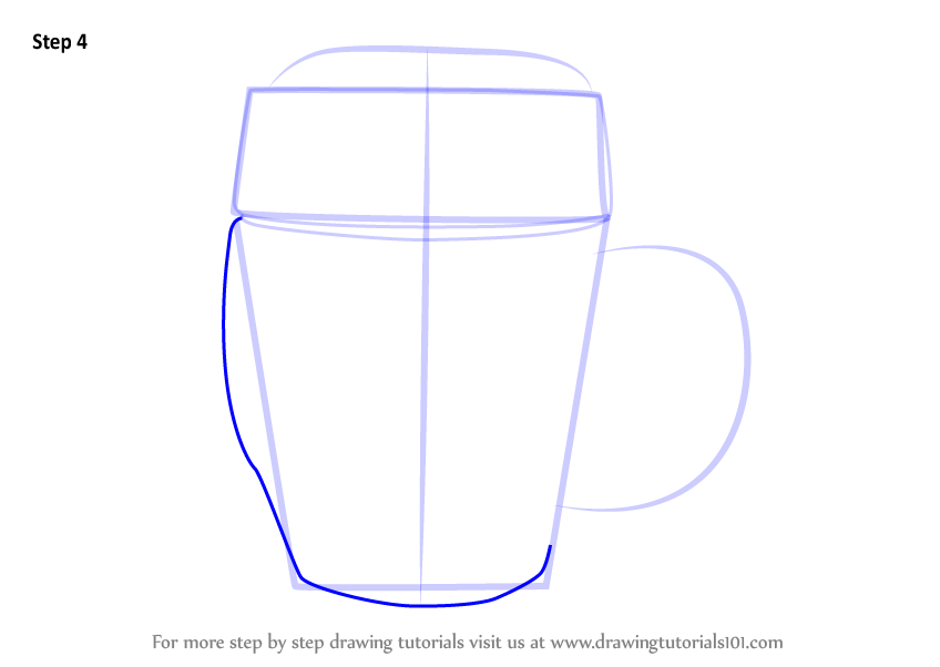 Learn How to Draw Beer Mug Everyday