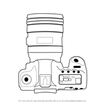 How to Draw a Camera with Lens